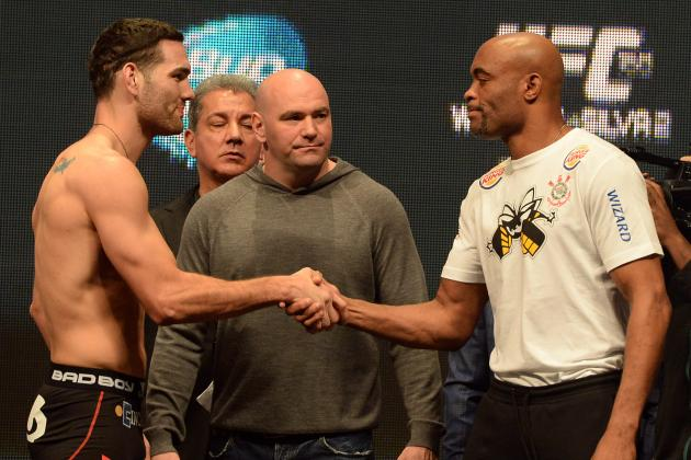Chris Weidman vs. Anderson Silva Rematch: Predictions You Can Take to the Bank