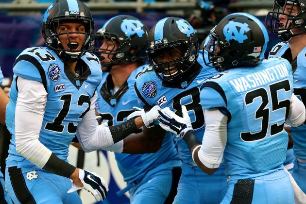 With Belk Bowl Win, North Carolina Emerges as 2014 ACC Coastal Favorite