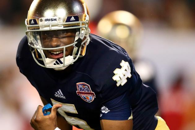 Pinstripe Bowl 2013: Notre Dame Proves Just How Bad It Needs Everett Golson Back