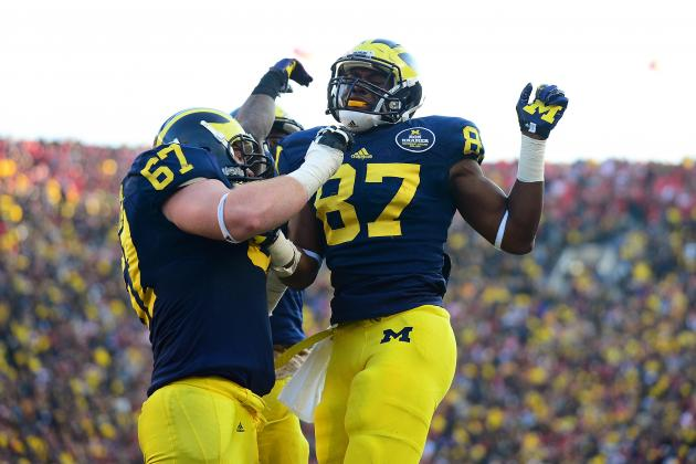 Buffalo Wild Wings Bowl 2013: Live Game Grades, Analysis for Michigan Wolverines