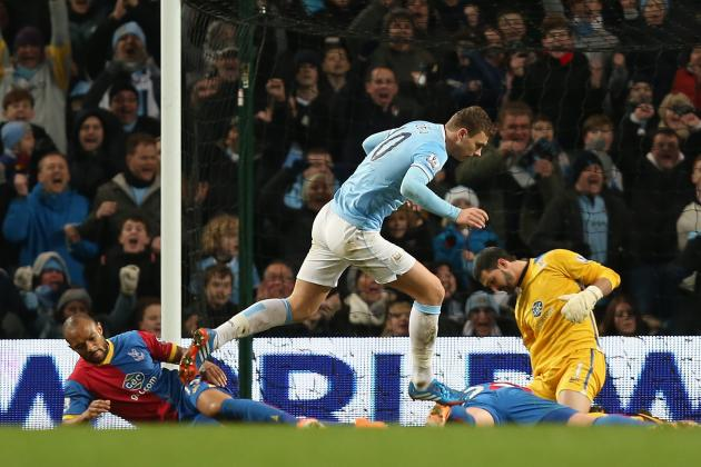 Professional Manchester City Put in Gritty Holiday Shift Beating Crystal Palace