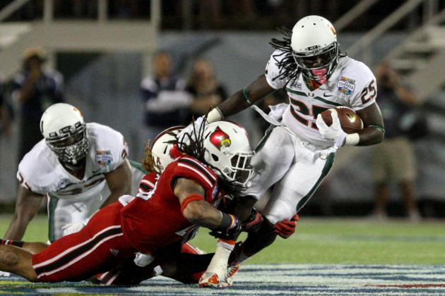 Russell Athletic Bowl: Louisville Blowout Shows Miami Was Never Elite in 2013