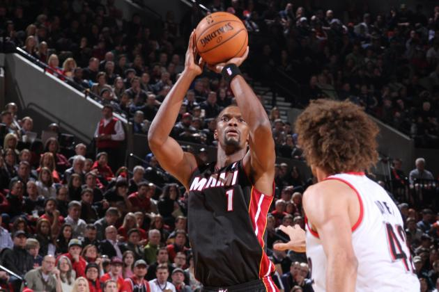 Chris Bosh Makes Game-Winning Three-Pointer off Dwyane Wade Behind-the-Back Pass