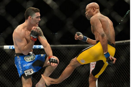 Image: Anderson Silva Suffers Gruesome Leg Injury
