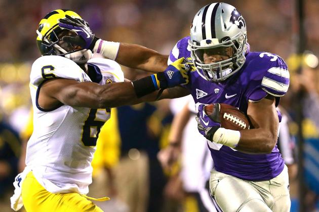 Buffalo Wild Wings Bowl 2013 Michigan vs. Kansas State: Live Score, Highlights