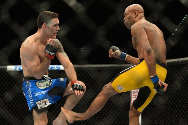 Weidman vs. Silva 2: The Pivotal Moment in the Title Rematch at UFC 168