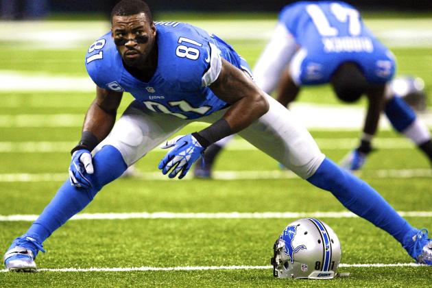 Calvin Johnson Injury: Updates on Lions WR's Knee and Return