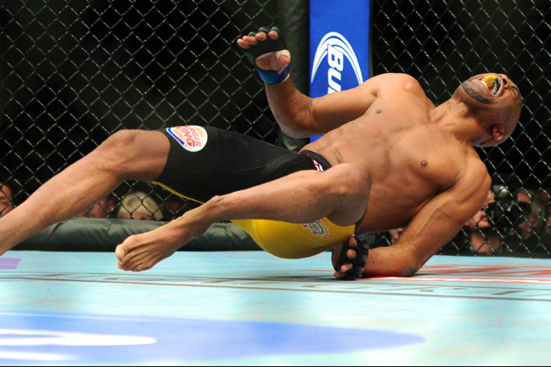 Anderson Silva and the Awful Sound I'll Never Forget