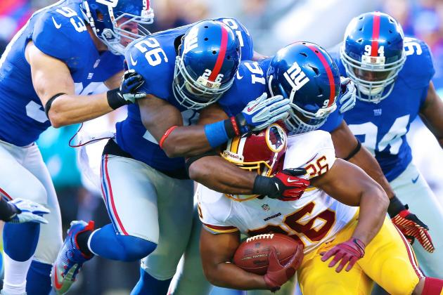 Washington Redskins vs. New York Giants: Live Score, Highlights and Analysis