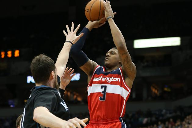 Bradley Beal Shoots Really Well  Thanks to Marcin Gortat