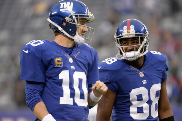 Eli and Nicks (Ankles) Ruled out for Rest of Week 17 Finale