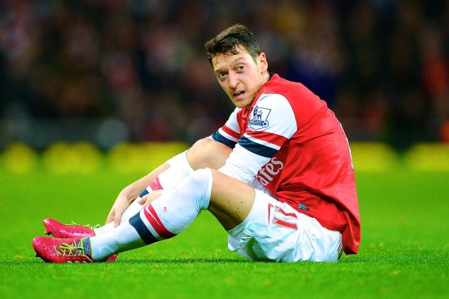 Mesut Ozil Injury: Updates on Arsenal Star's Shoulder and Return