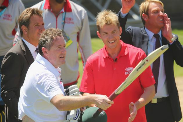 Piers Morgan and Brett Lee: World Cricket's Clowns of the Month, December 2013