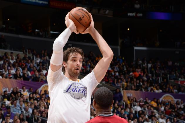 Gasol out for Lakers Again Sunday, Still Battling Upper Respiratory Infection