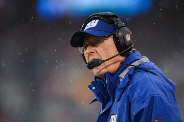 Tom Coughlin Won't Answer Questions About Future with Giants