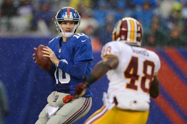 Eli Manning Injured as NY Giants Win Final Game of Nightmare 2013 Season