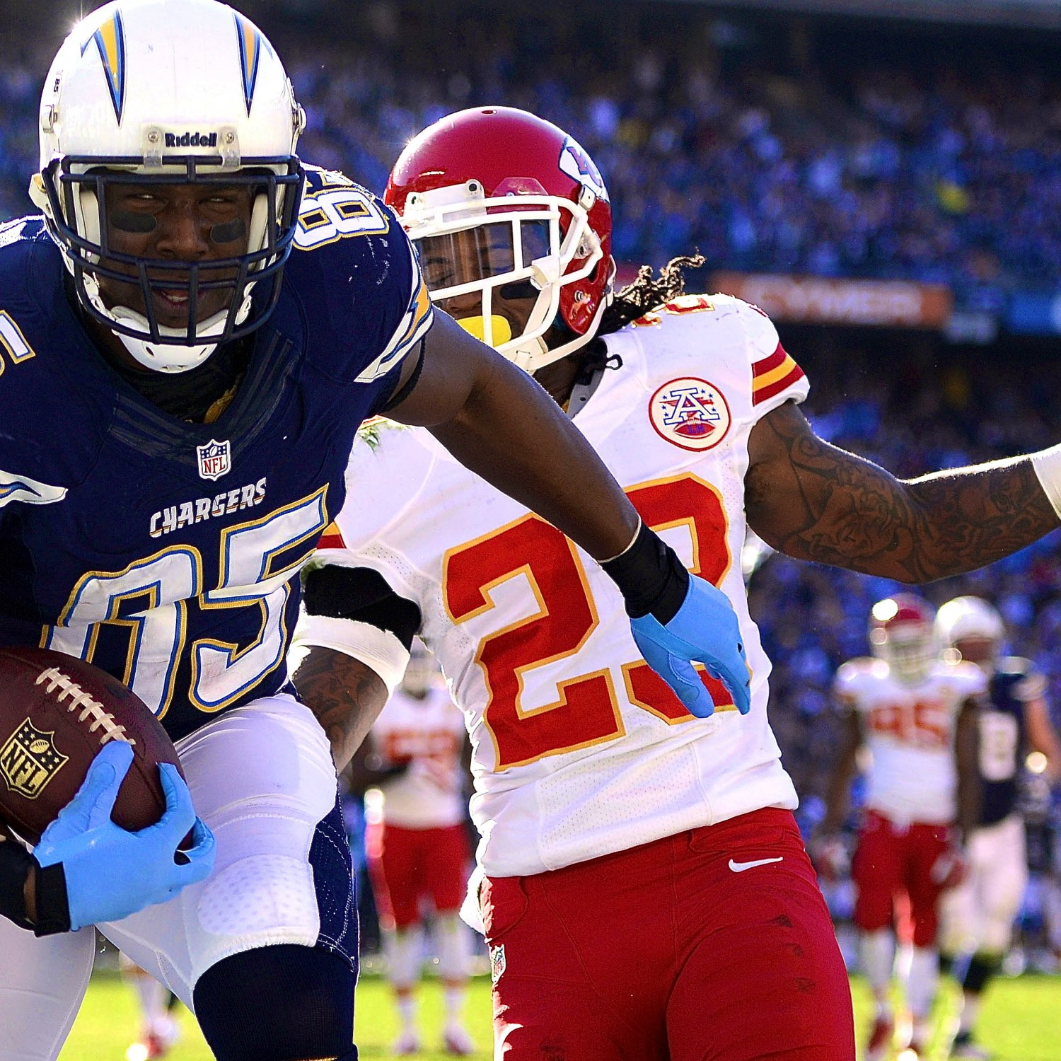 San Diego Chargers Current Score: Kansas City Chiefs Vs. San Diego Chargers: Live Score