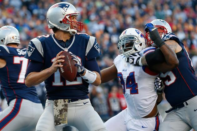 Bills vs. Patriots: Live Grades and Analysis for New England
