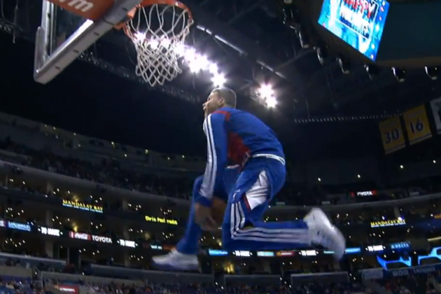 Watch DeAndre Jordan, Blake Griffin Throw Down Insane Pregame Warmup Dunks