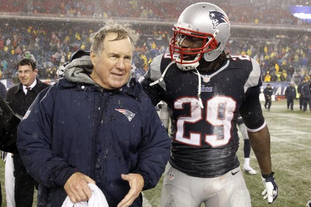 Belichick Says He Talked to Talib Before Patriots Traded for Blount