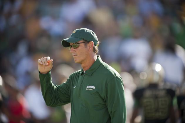 Baylor Head Coach Art Briles Discusses Texas Football Coaching Rumors