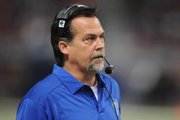 Jeff Fisher Loses Control of Young St. Louis Rams in Regular Season Finale