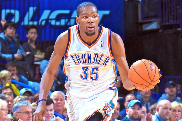 Kevin Durant Can Carry Oklahoma City Thunder Until Russell Westbrook Returns