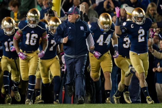 Notre Dame Football: 2013 Grades for Brian Kelly