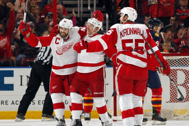 Why Henrik Zetterberg Is Detroit Red Wings' Runaway MVP at Midpoint of Season