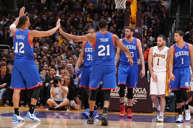 Philadelphia 76ers vs. Los Angeles Lakers: Live Score and Analysis