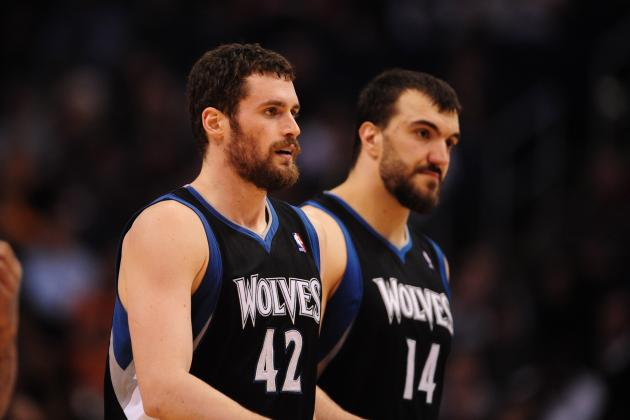 Why the Kevin Love, Nikola Pekovic Tandem Won't Work Long-Term