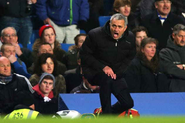 Jose Mourinho Mocks Luis Suarez's Swimming Pool Dive During Chelsea vs Liverpool