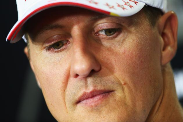 Formula 1 Drivers Show Support for Michael Schumacher on Twitter