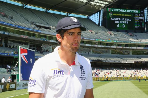 Alastair Cook Slammed by Michael Vaughan and Geoff Boycott for Ashes Nightmare