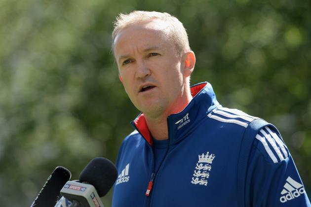 Andy Flower Set for Talks over England Future After Ashes Horror Show