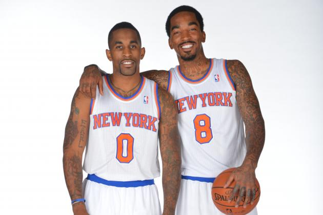 NY Knicks Reportedly Considering Cutting JR Smith's Brother Chris from Roster