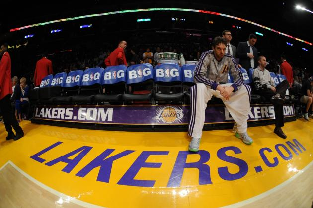 Listless Pau Gasol Bailing on Los Angeles Lakers When Team Needs Him Most