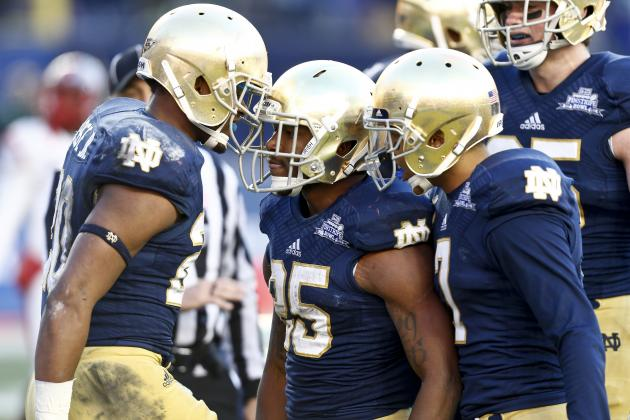 Irish Provide a Glimpse of Their 2014 Offense