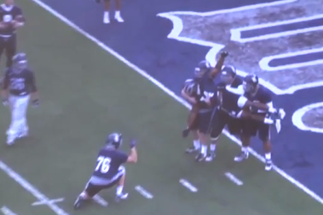 The Rice O-Line Has The Best Touchdown Celebrations You'll Never See
