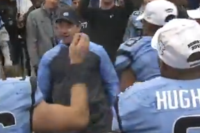 Video: UNC Coach Larry Fedora Does the #NaeNae Dance