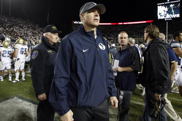BYU Football: Should Bronco Mendenhall Be on the Hot Seat?