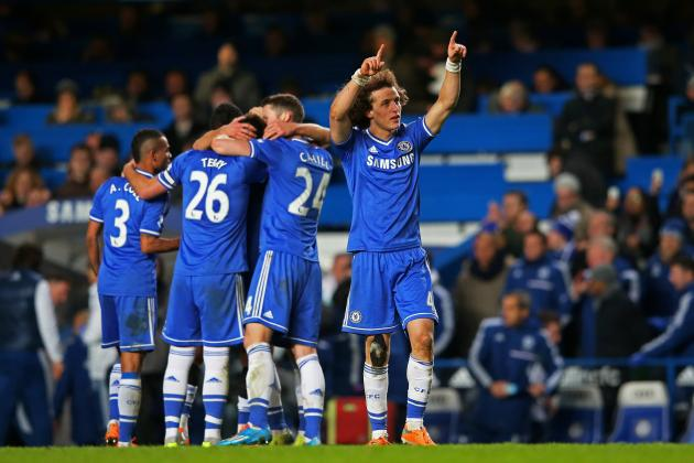 Chelsea's David Luiz: More at Home in Midfield Than in Defense