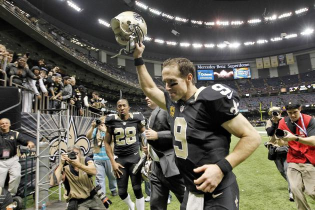 NFL Playoff Picture 2014: New Orleans Saints Poised for Super Bowl Run