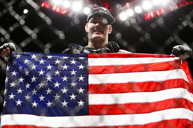 UFC 168: Chris Weidman 'Excited' to Move on from Anderson Silva to Vitor Belfort