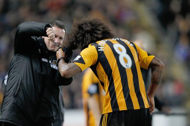 Hull City Star Tom Huddlestone's Hair Up to £1,000 on Ebay in Charity Auction