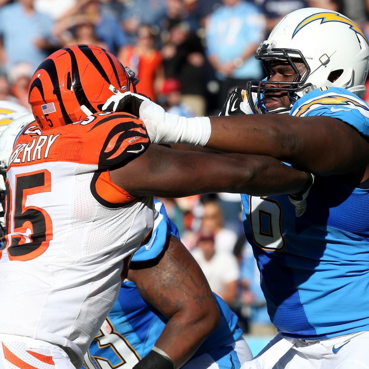 San Diego Chargers Cincinnati Bengals: Chargers Vs. Bengals: Who Has The Edge At Every Position
