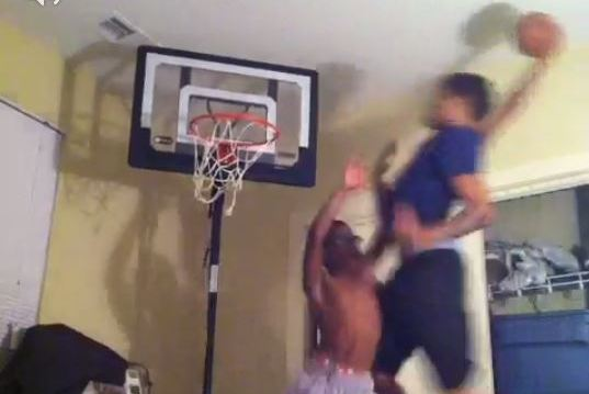 Kid Gets Posterized While Dancing, Leads to Great Reactions