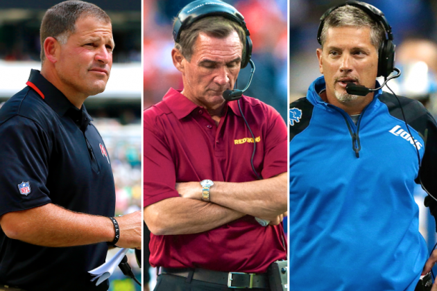 NFL Black Monday 2013: Coaches on Hot Seat, Rumors and Firing News