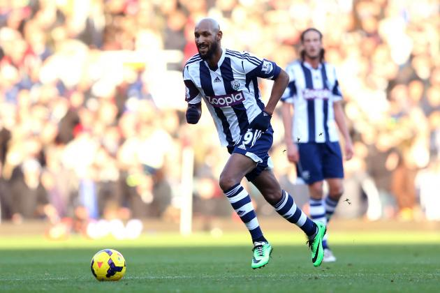 Nicolas Anelka Charged by FA for West Brom Striker's 'Quenelle' Gesture