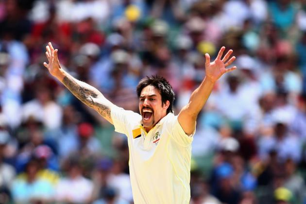 Mitchell Johnson: World Cricket's Bowler of the Month, December 2013